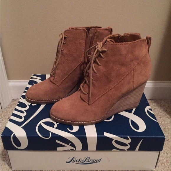 c9f1e175e0db Lucky Brand Shoes - Lucky Brand Yoanna Wedge Booties